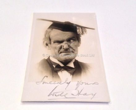 Will Hay Autograph Signed Photograph